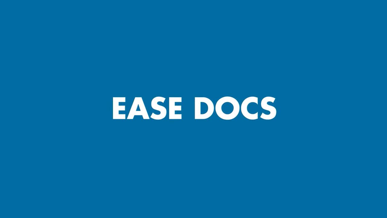 EASEDocsTutorial