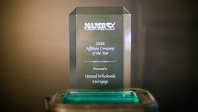 United Wholesale Mortgage Named NAMB Affiliate Company of the Year